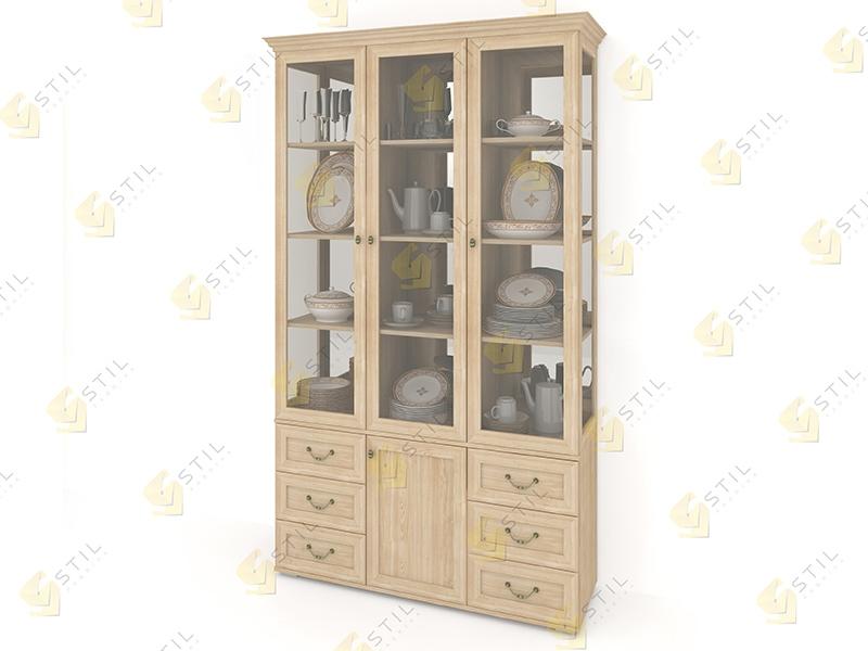 Шкаф для посуды Витраж 4С