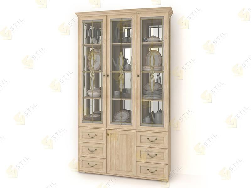 Шкаф для посуды Витраж 4В