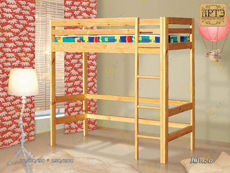 Детская кровать-чердак Юнга