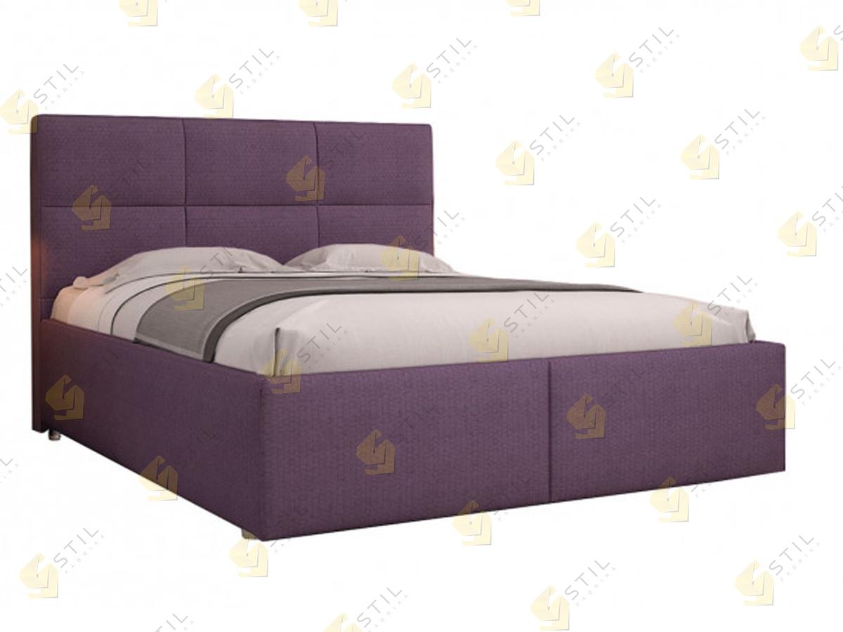 Кровать с мягким изголовьем Эгерия