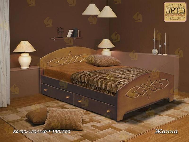 Кровать из массива Жанна
