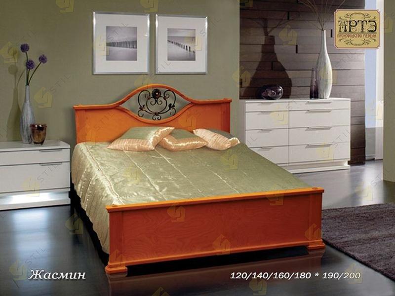 Кровать из массива Жасмин