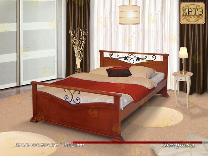 Кровать из массива Золушка