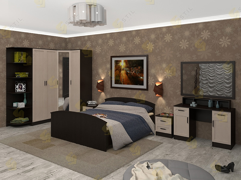 Модульная спальня Арина-10