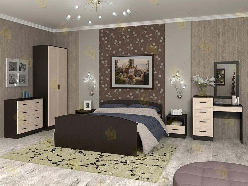 Модульная спальня Арина-4