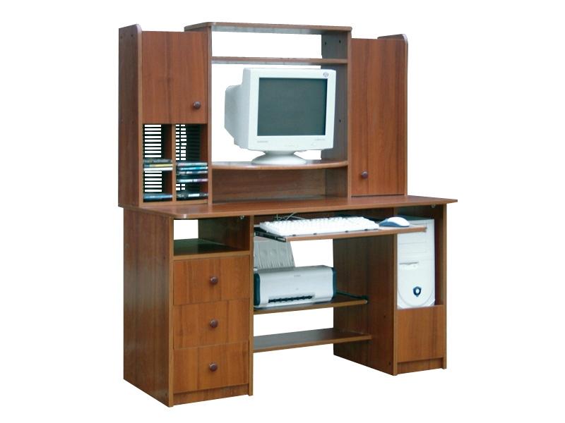 Компьютерный стол с надстройкой Атлетико
