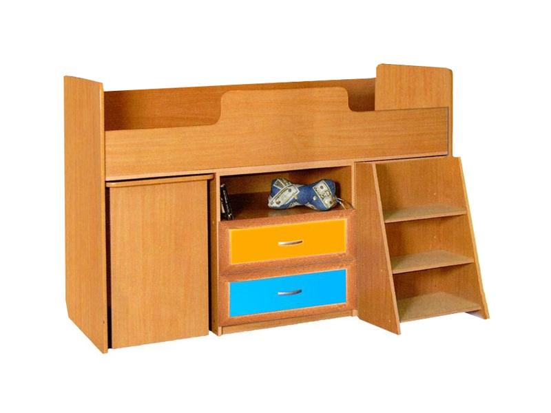 Недорогая мебель в детскую с кроватью Малыш