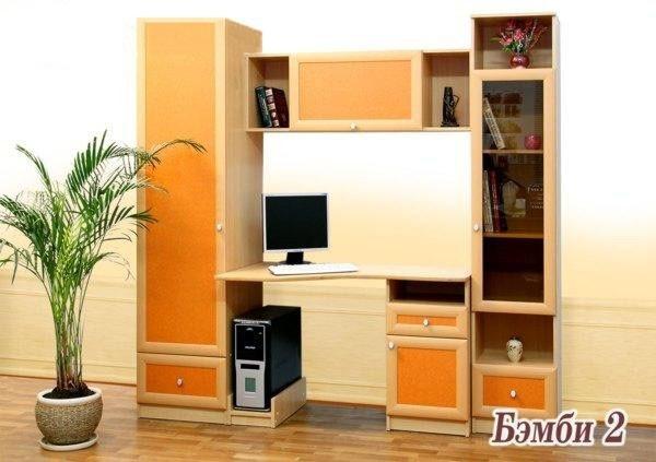 Недорогая мебель для детской Бемби-2