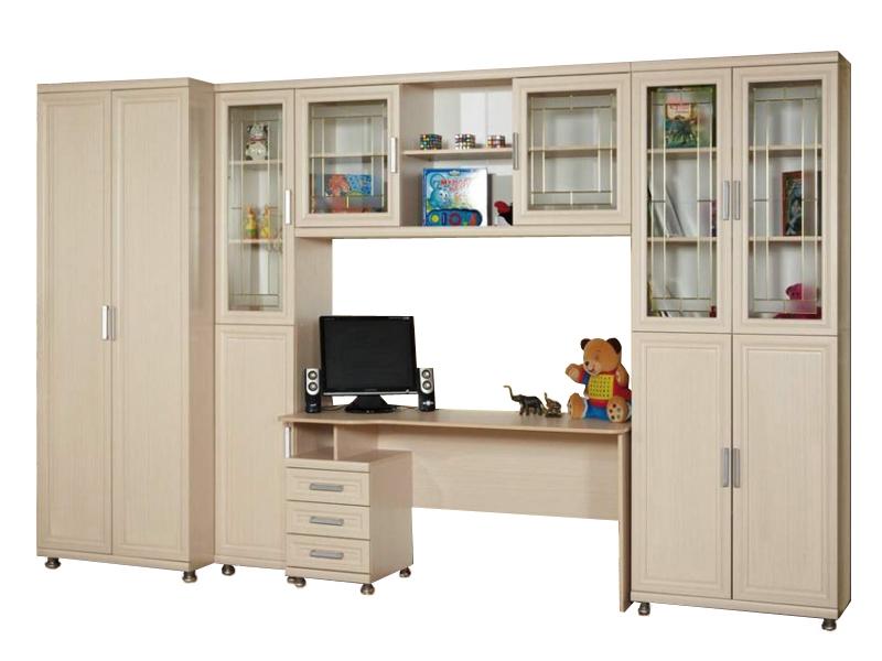 Недорогой большой набор мебели в детскую Дана-2