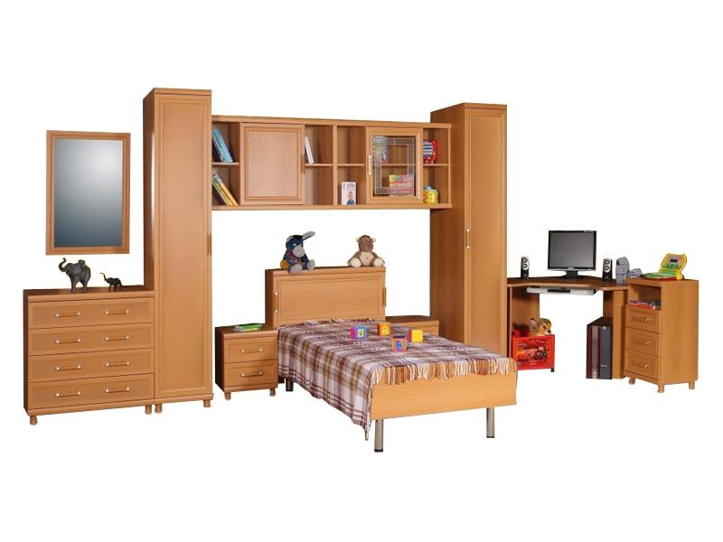 Большой набор мебели в комнату подростка Дана-3