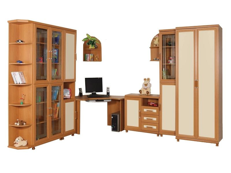 Большой набор мебели в комнату подростка Дана-4