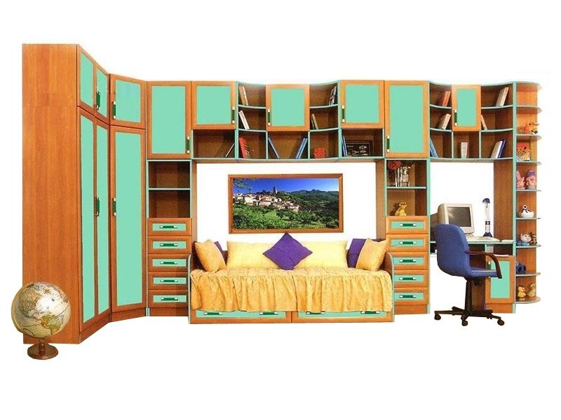 Большой набор мебели в детскую Щелкунчик