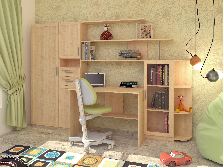 Недорогая мебель в детскую Школьник-2М