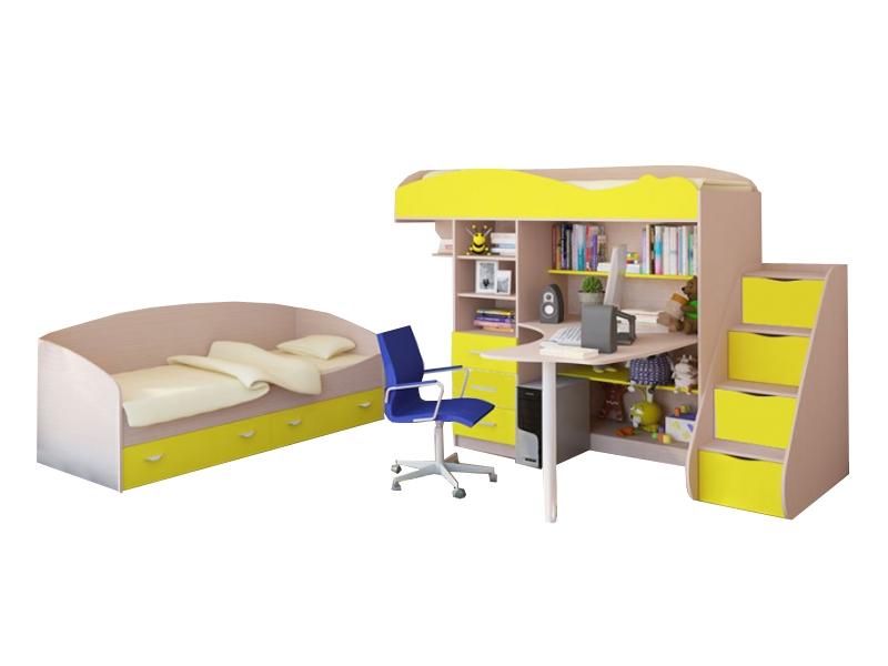 Мебель в детскую для двоих детей Фрегат