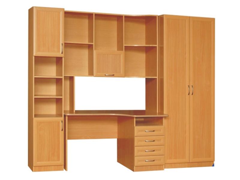 Недорогая мебель в комнату подростка Карина МДФ