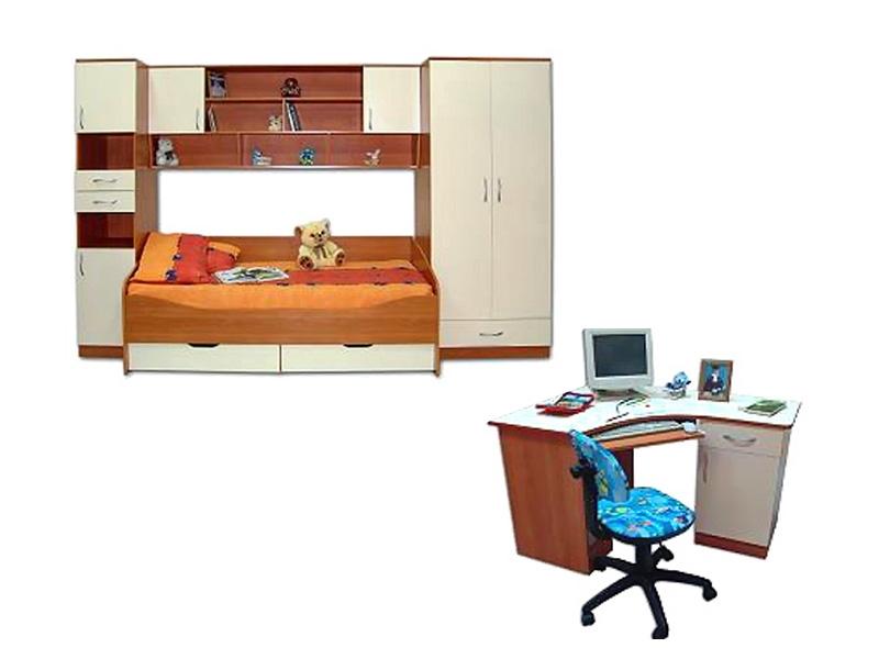 Недорогая мебель в детскую для девочки Катюша