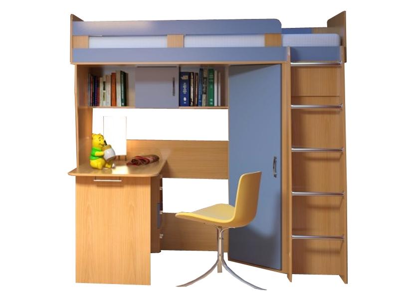 Недорогая мебель в детскую для мальчика Малыш-2