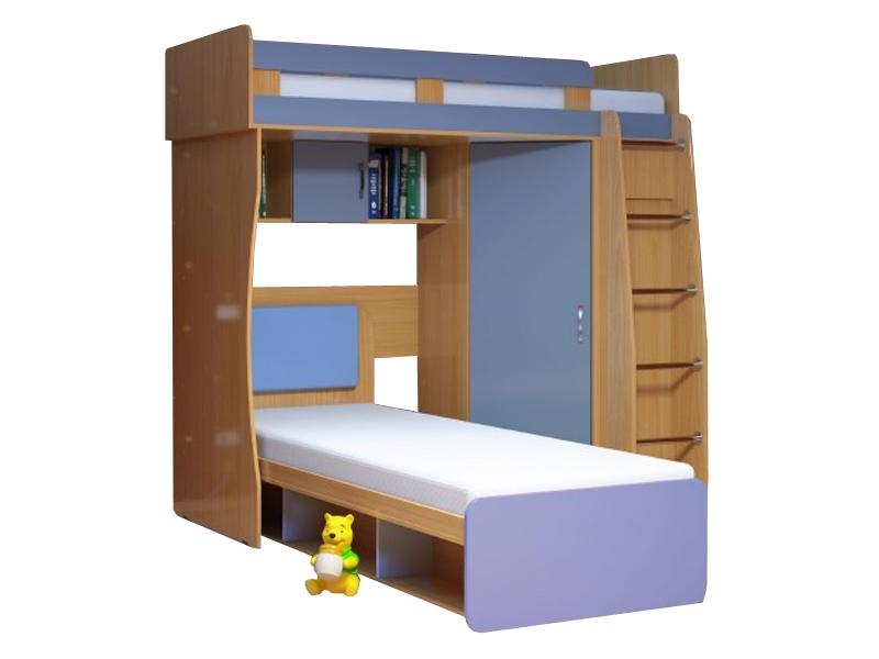 Недорогая мебель в детскую для двоих детей Малыш-3