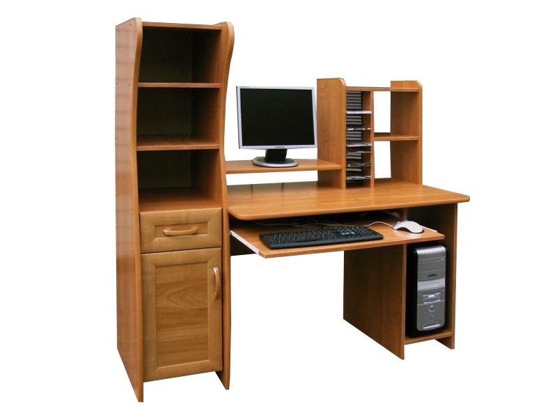 Компьютерный стол с надстройкой Магнат
