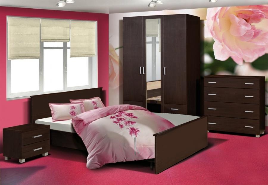 Недорогая спальня Милена-3