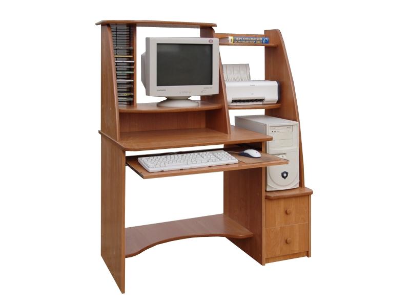 Компьютерный стол с надстройкой Монако