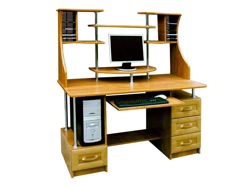 Компьютерный стол с надстройкой Президент