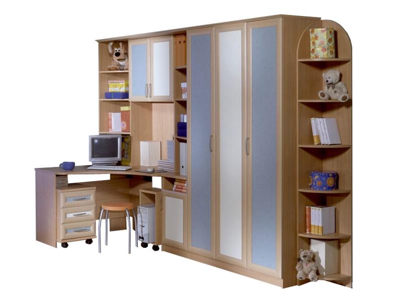 Недорогая мебель в детскую для подростка Парус-2
