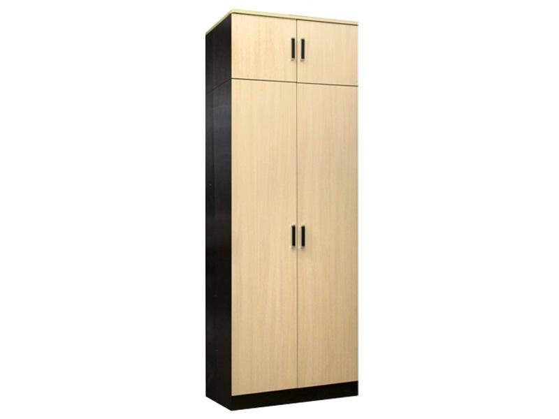 Недорогой распашной шкаф с антресолью Лайт 2