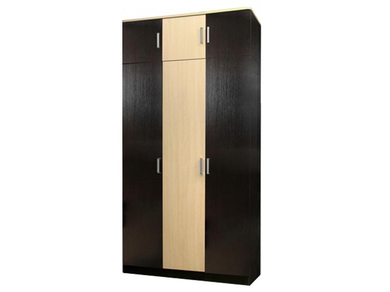 Недорогой распашной шкаф с антресолью Лайт 3