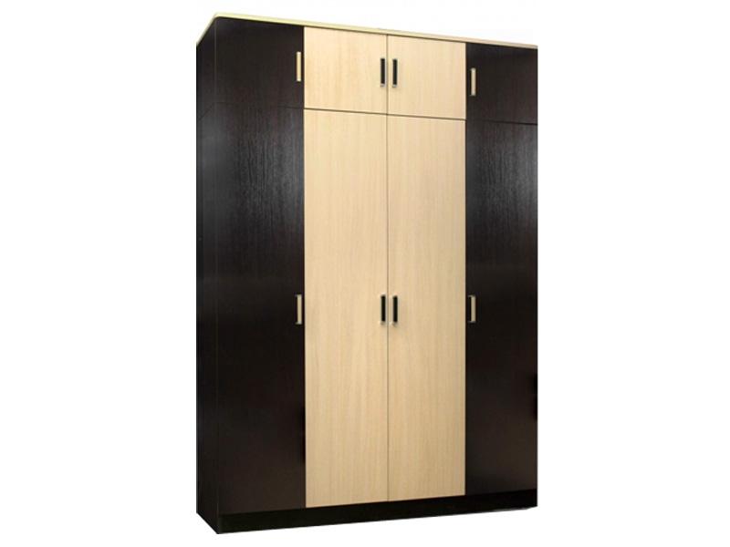 Недорогой распашной шкаф с антресолью Лайт 4
