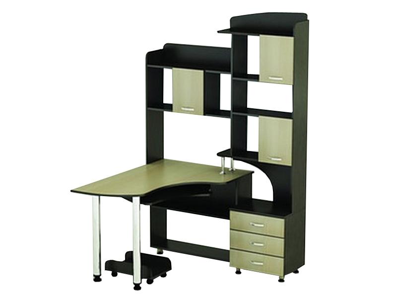 Угловой компьютерный стол премиум-класса СКТ-18