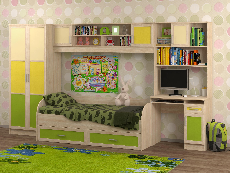 Недорогая мебель в детскую Белоснежка-1