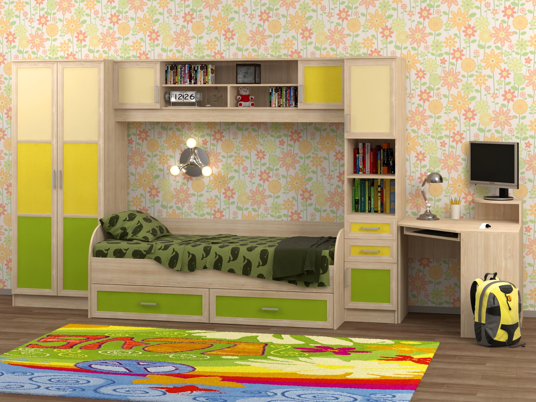 Недорогая мебель для детской Белоснежка-2