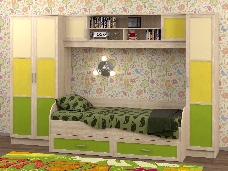 Недорогая детская мебель для девочки Белоснежка-3