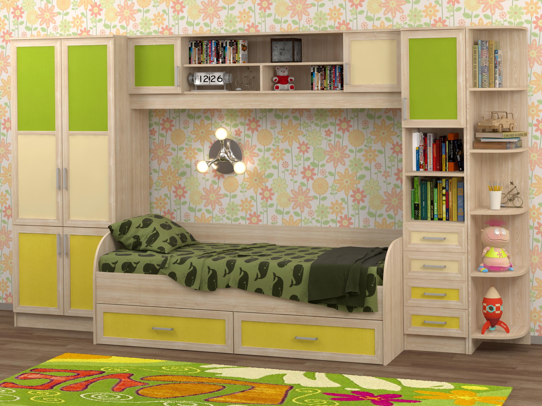 Недорогая мебель в детскую Белоснежка-4