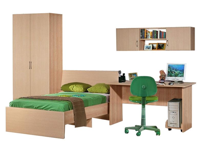 Недорогой набор мебели для подростка Спринт-14