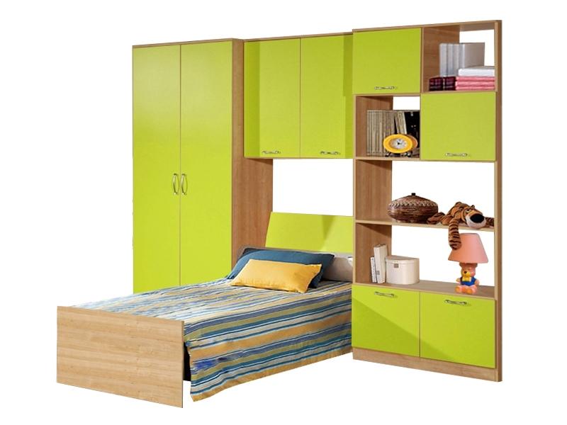 Недорогая мебель с кроватью в детскую Спринт-4