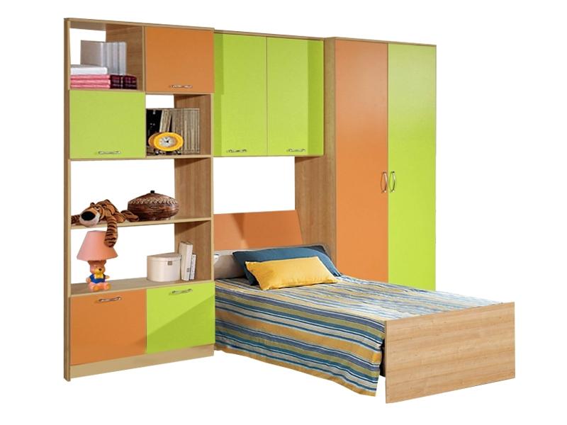 Недорогая мебель с кроватью в детскую Спринт-5