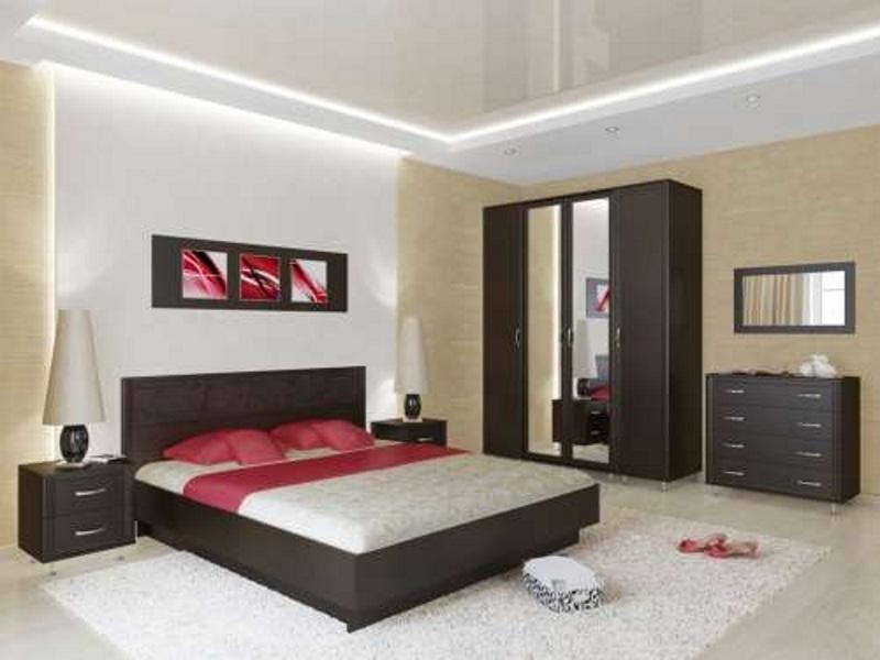 Недорогая спальня Стиль-1