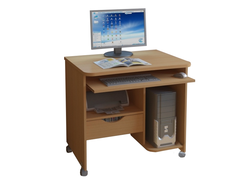 Купить компьютерный стол 2 от производителя фабрики стиль.