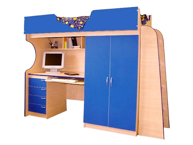 Недорогая мебель в детскую для мальчика Люкс-1