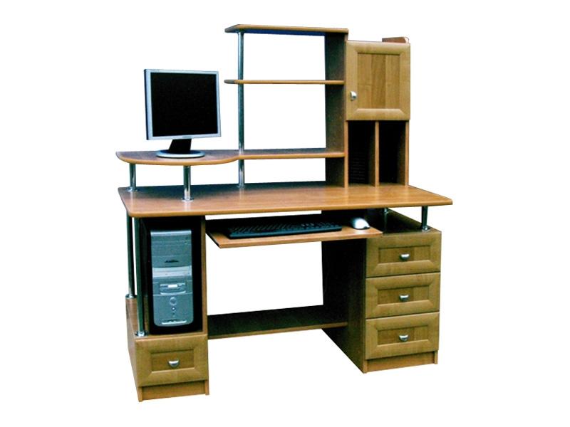 Компьютерный стол с надстройкой Валенсия-2