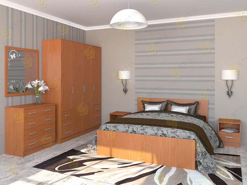 Недорогая спальня Валерия 1Л