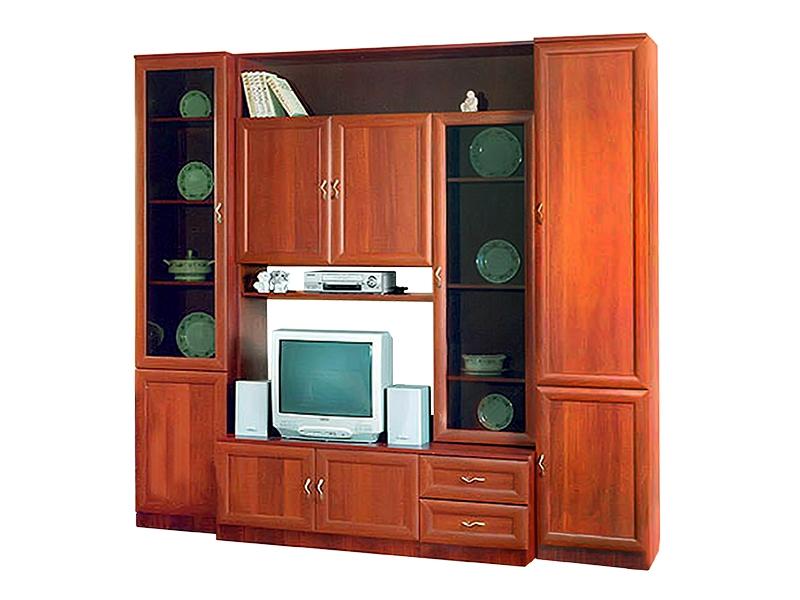 Недорогая классическая стенка для гостиной Валерия-10К
