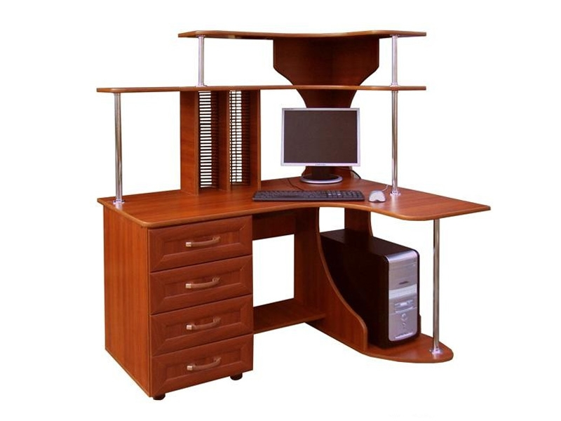 Угловой компьютерный стол Вулкан