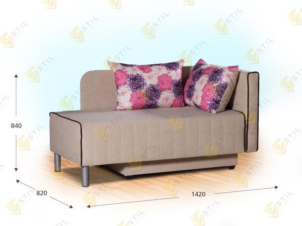 Прямой диван Анимато