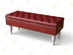 Прямой диван Банкетка Честер 1