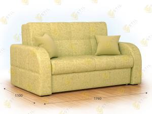 Прямой диван Бауни