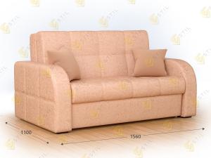 Прямой диван Бауни 156