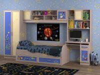 Детская комната Белоснежка-1 Космос (для девочки)